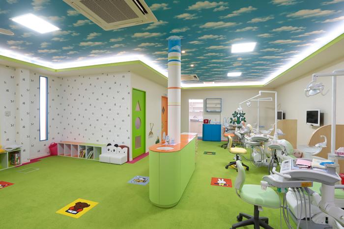 こどもさん診療スペース